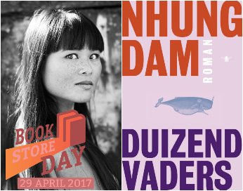 Bookstore Day: Nhung Dam over 'Duizend vaders'