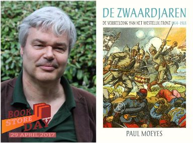 Bookstore Day: Paul Moeyes over 'De Zwaardjaren'